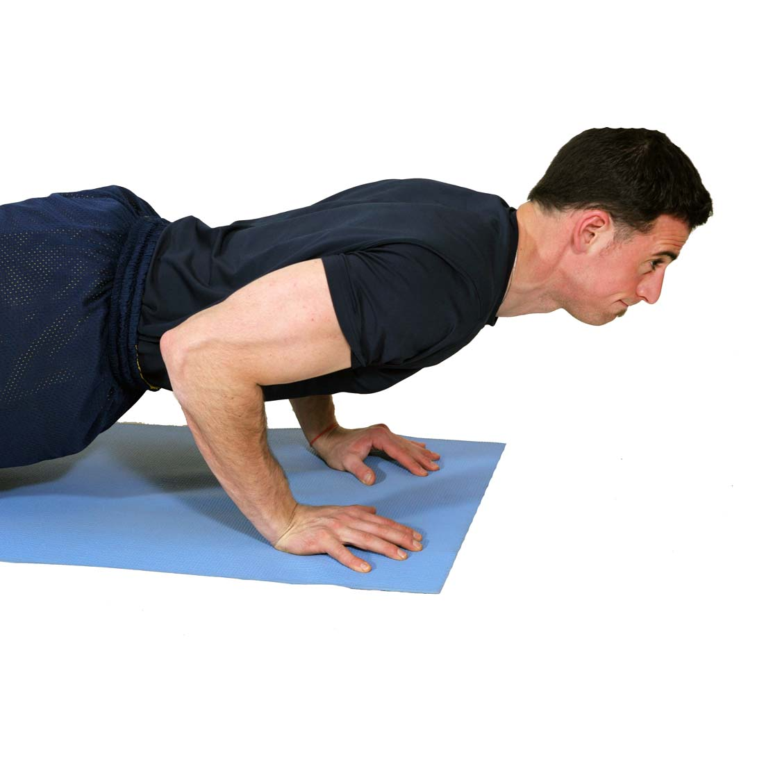 Close Grip Push-Up Press