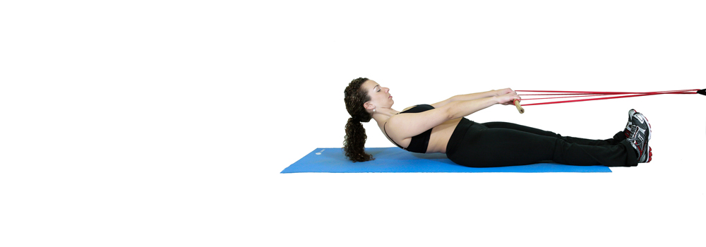 Core Exercises with Workout Bands
