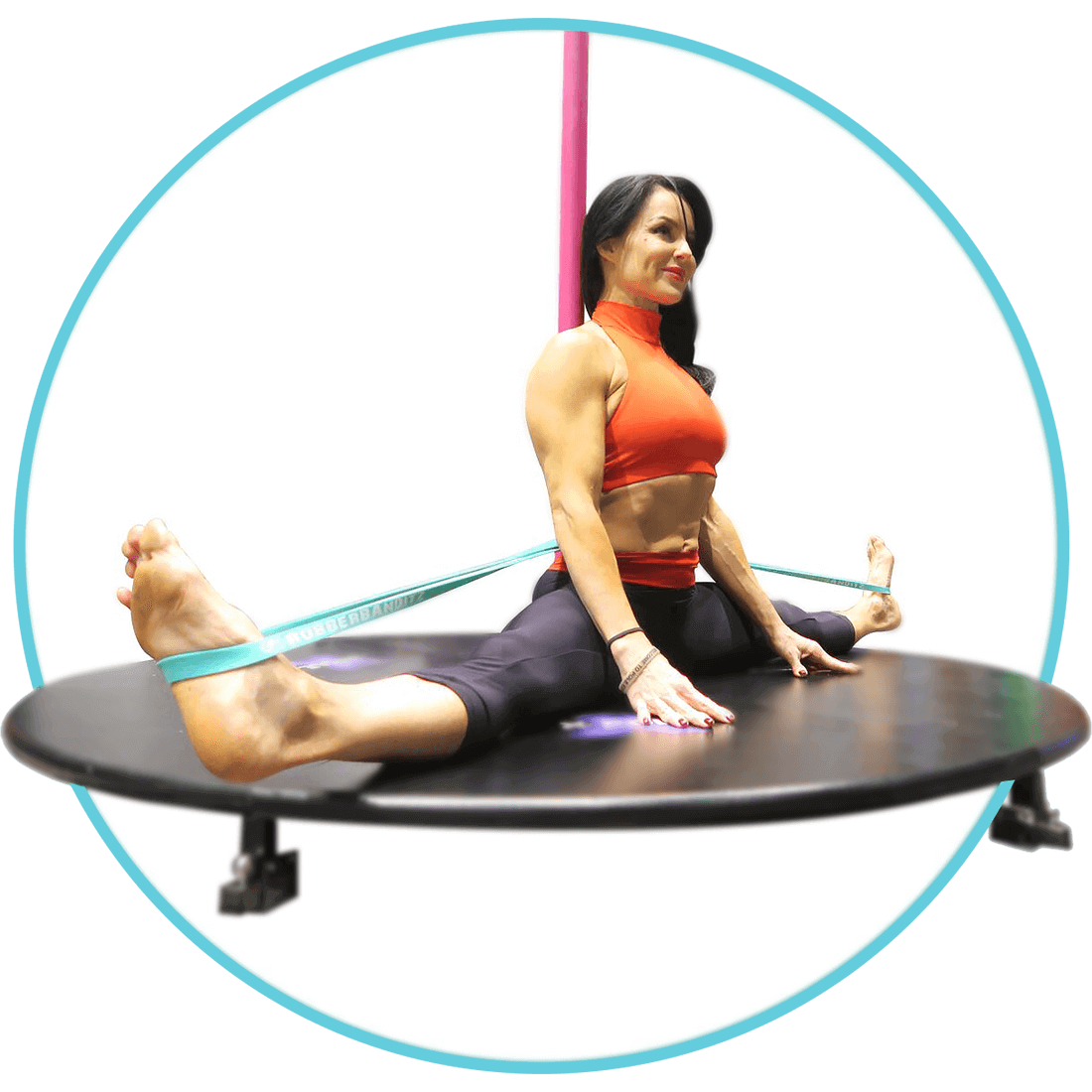 Splits with Resistance Bands