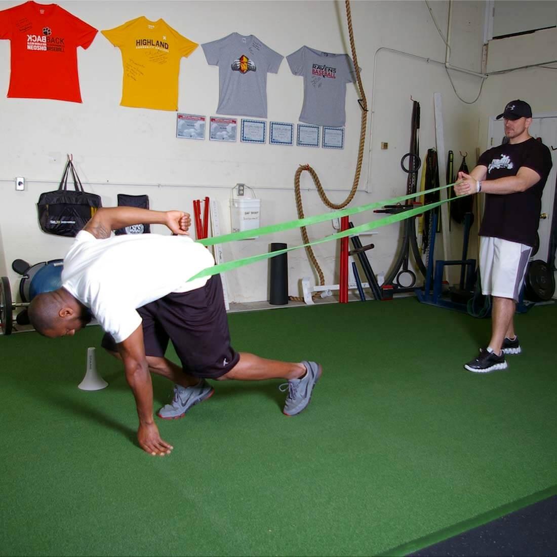 Partner Resisted Sprint Training