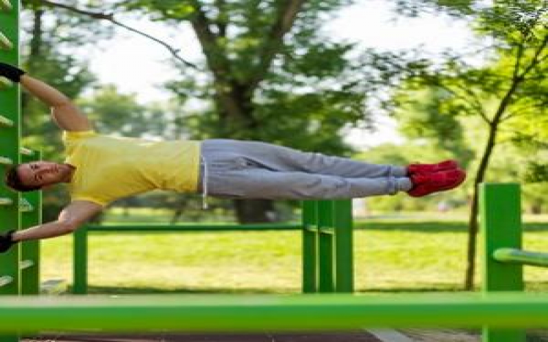 How To Calisthenics Human Flag in 5 Simple Steps
