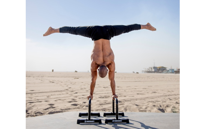 The Ultimate Guide To Mastering the L-Sit, Plance, and Handstand on Parallettes