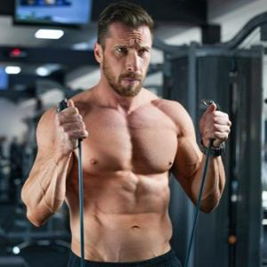 Biceps Exercises with Resistance Bands