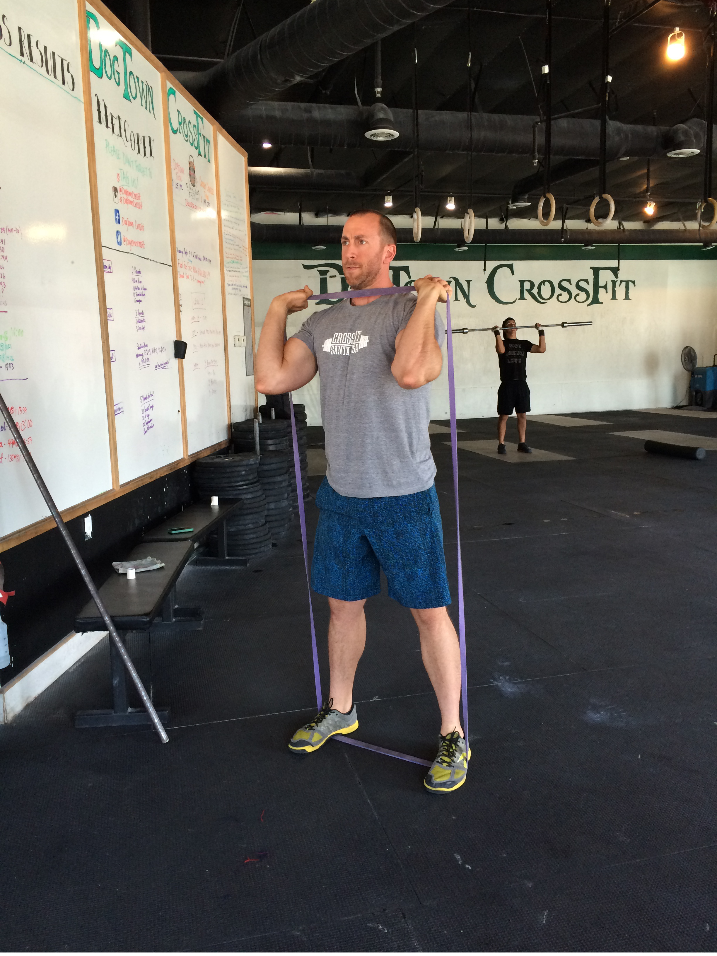 Blog Crossfit Resistance Band Workout Part 2