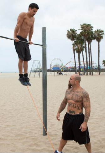 resisted muscle up