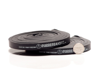 heavy resistance band, 100 lbs band