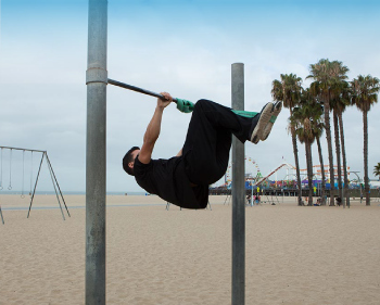 tuck front lever, tuck front lever position