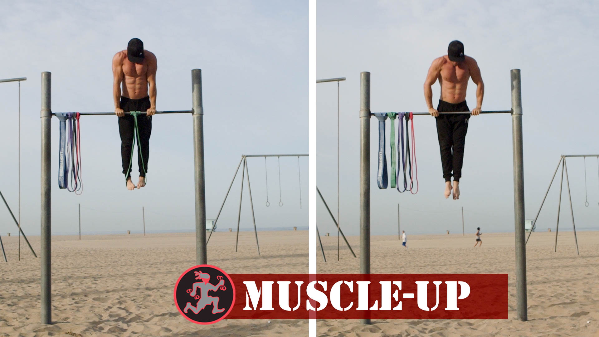 Calisthenics Bodyweight Training Bands for Muscle Ups